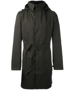 NORWEGIAN RAIN | Hooded Raincoat Medium Recycled Polyester/Polyester/Viscose/Cashmere