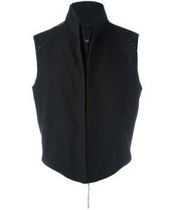 CEDRIC JACQUEMYN | High Neck Vest 48 Virgin Wool