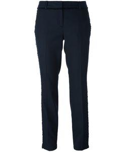Michael Michael Kors | Slim-Fit Trousers 8 Wool/Polyester/Viscose/Spandex/Elastane