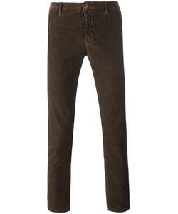 Incotex | Straight Trousers 36 Cotton/Spandex/Elastane