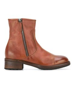 Laboratorigarbo | Zipped Boots 37 Calf Leather/Leather/Rubber