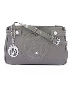 ARMANI JEANS | Logo Embossed Shoulder Bag