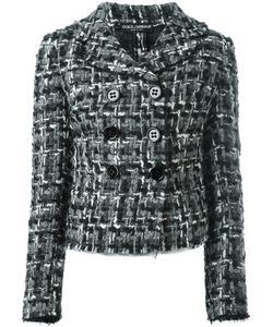 Dolce & Gabbana | Tweed Jacket 46 Wool/Polyamide/Cotton/Spandex/Elastane