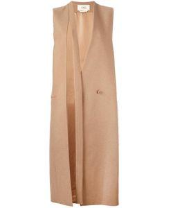 Ports   1961 Sleeveless Coat 44 Camel Hair/Cupro/Silk