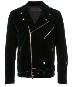 ROUTE DES GARDEN | Velvet Biker Jacket 52 Cotton/Viscose