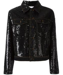 Ashish | Sequin Embellished Denim Jacket Medium Cotton