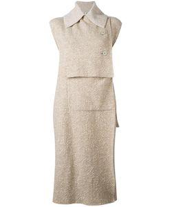 Boboutic   Asymmetric Waistcoat Medium Polyamide/Wool/Yak/Spandex/Elastane
