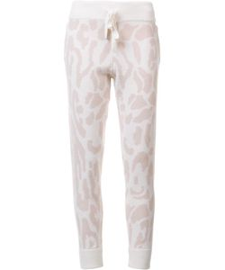 BAJA EAST   Leopard Print Sweatpants 0 Cashmere