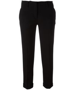 Aspesi | Slim-Fit Cropped Trousers 44 Triacetate/Polyester
