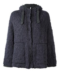 Boboutic   Double Knit Hooded Cardigan Medium Polyamide/Wool/Yak/Spandex/Elastane