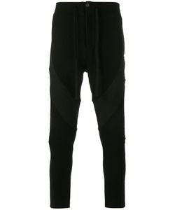 Ann Demeulemeester | Panelled Trousers Large Wool/Nylon/Cotton/Polyester