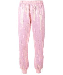 Ashish | Bead Embellished Sequin Track Pants Xs Cotton/Polyester/Sequin