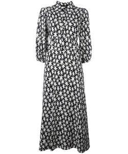 Saint Laurent | Star Print Dress 36 Viscose/Silk