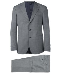 Tonello | Jacquard Business Suit 48 Virgin Wool/Viscose