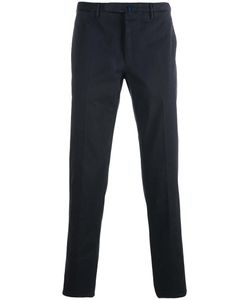 Incotex | Slim Fit Chino Trousers 46 Cotton/Spandex/Elastane