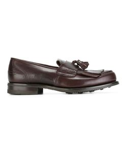 Church'S | Tassel Loafer Shoes 7 Leather/Cotton/Rubber