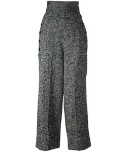 Y'S | Herringbone Pants 1 Silk/Acrylic/Nylon/Wool