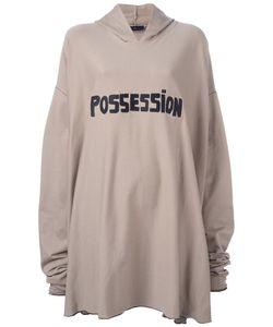 AREA DI BARBARA BOLOGNA | Oversized Possession Hoodie Cotton/Spandex/Elastane