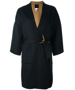 Agnona | Belted Wrap Coat Large Wool