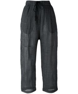 Damir Doma | Pae Cropped Trousers Large Virgin Wool/Silk