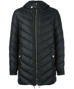Versus | Hooded Quilted Jacket 46 Polyester/Polyamide/Cotton/Feather Down