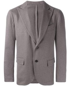 Lardini | Single Breasted Blazer 48 Cashmere/Silk/Viscose/Cupro