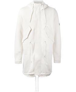 Diesel | Hooded Coat Large Artificial Leather/Cotton/Polyester