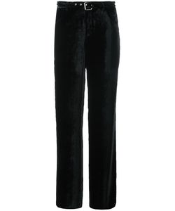 Arthur Arbesser | Belted Wide Leg Trousers 40 Viscose/Silk/Polyester