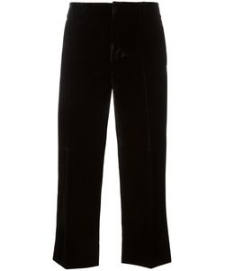 Dsquared2 | Mariacarla Cropped Trousers 42 Viscose/Cotton/Silk/Polyester