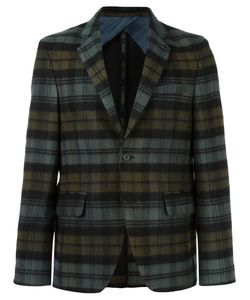 Golden Goose | Deluxe Brand Plaid Blazer Small Wool/Polyester/Viscose/Cupro