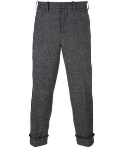Neil Barrett | Cuffed Check Trousers 46 Wool/Polyamide/Spandex/Elastane/Cotton