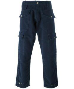 Bleu De Paname | Pocket Cargo Trousers 28 Cotton