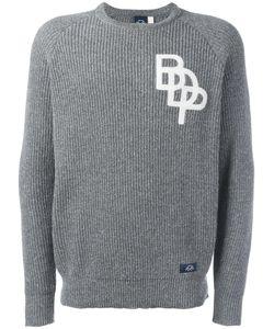 Bleu De Paname | Logo Rib Knit Jumper Large