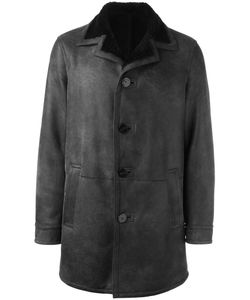 Neil Barrett | Single Breasted Coat Large Leather