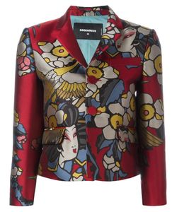 Dsquared2 | Blossom Fitted Jacket 42 Polyester