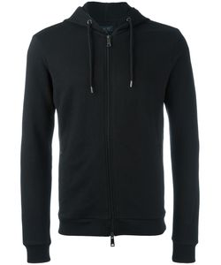 ARMANI JEANS | Zip Up Hoodie Large Cotton/Polyester