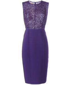 Michael Kors | Sequinned Detail Dress 12 Virgin Wool/Spandex/Elastane