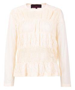 Tricot Comme des Garçons | Comme Des Garçons Tricot Woven Blouse Small Cotton/Nylon/Polyurethane