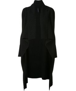Gareth Pugh | Jacquard Draped Cardi-Coat Large Wool