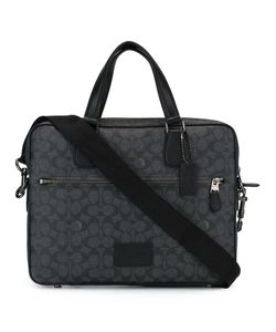 COACH | Logo Print Shoulder Bag