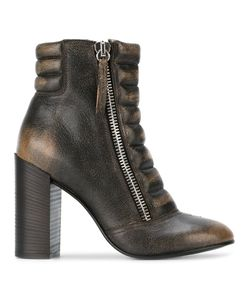 Diesel   D-Amelia Ankle Boots 38 Goat Skin/Leather/Rubber