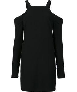 Tibi | Cut-Off Shoulders Dress 4 Polyester/Triacetate