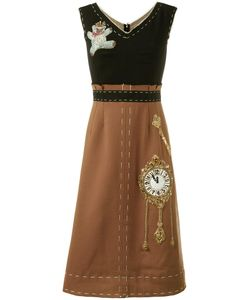 Dolce & Gabbana | Wonderland Patch Dress 44 Virgin