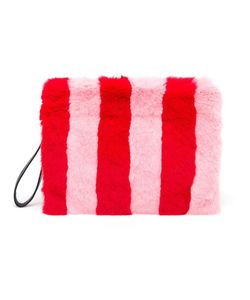 TU ES MON TRESOR | Fur And Leather Clutch