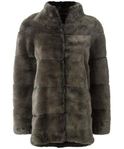 Liska | Joki Coat Medium Mink Fur