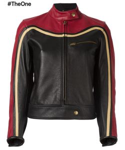 Chloe | Chloé Biker Jacket 38 Cupro/Viscose/Leather/Cotton