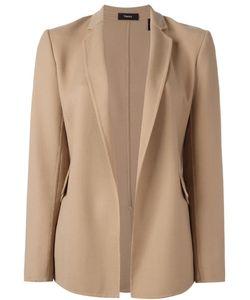 Theory | Flap Pockets Open Blazer 4 Virgin Wool/Spandex/Elastane/Polyester/Polyurethane