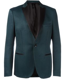 Tonello | Peaked Lapel Jacket 50 Virgin Wool/Silk/Acetate/Viscose