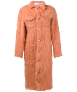 FAUSTINE STEINMETZ | Single Breasted Knit Coat Medium Mohair