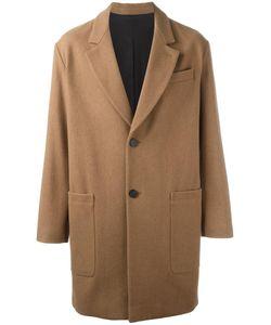 Ami Alexandre Mattiussi   Single Breasted Coat 46 Wool/Polyamide/Cotton/Acetate